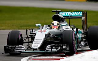 Blistering Hamilton edges Rosberg for Canada pole