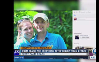 Zookeeper killed by tiger in Florida