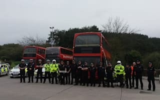 Police use double decker buses to secretly spot bad drivers