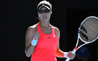 Lucic-Baroni into last eight as Mladenovic survives marathon
