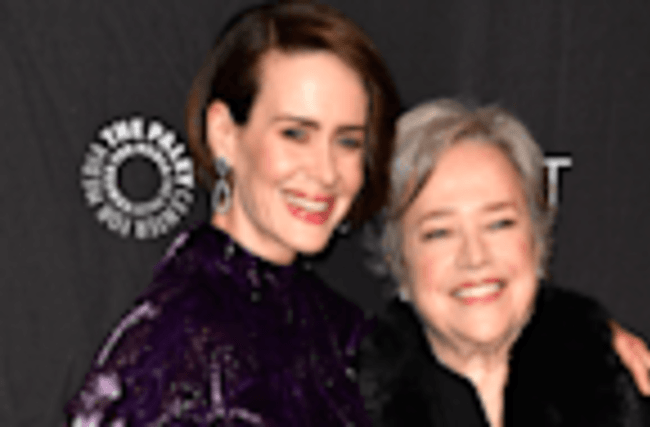 Kathy Bates Teases That Sarah Paulson May Play Princess Diana in 'Feud' Season 2