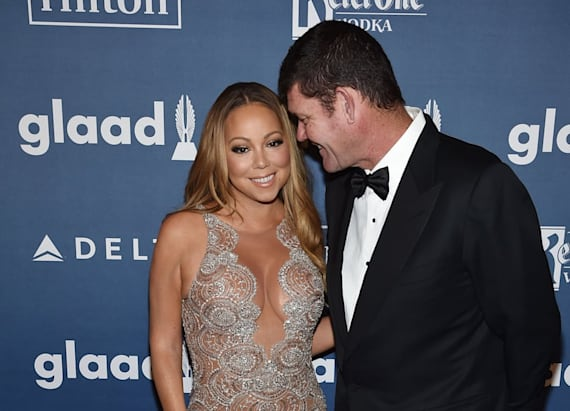 Mariah's fiance gets handsy on the dance floor