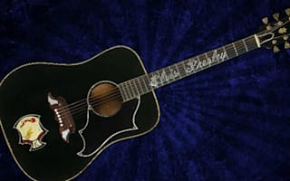 Guitar owned by Elvis sells for £230,000