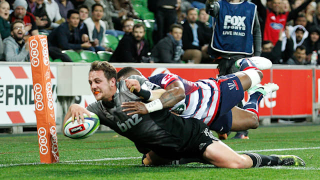 Crusaders crush Rebels, Highlanders down Waratahs