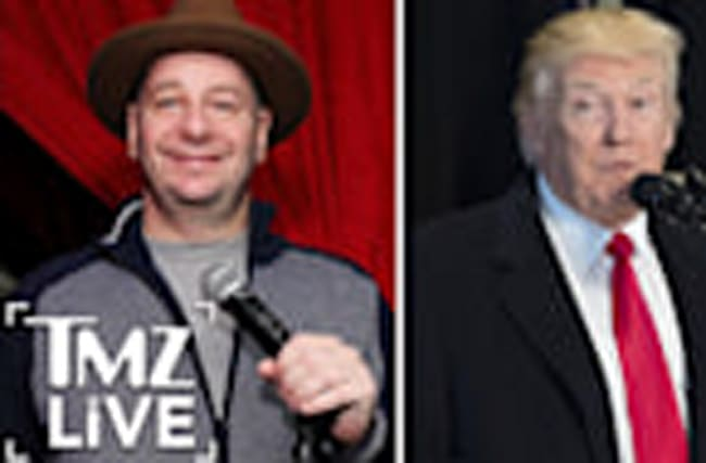 Jeff Ross: It Would Be An Honor To Roast President Trump I TMZ LIVE