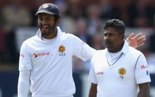 Sri Lanka seize control against Bangladesh in rainy Galle