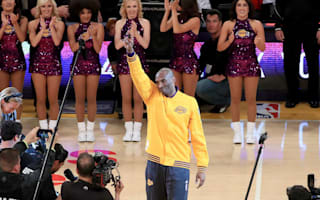 Kobe Bryant given star-studded tribute prior to final NBA game