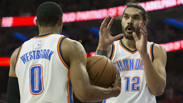 Westbrook scores 30 as Thunder top Rockets 105-103