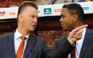 Van Gaal, Depay can turn United fortunes around - Kluivert