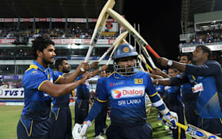 Sri Lanka beaten in Dilshan's last game