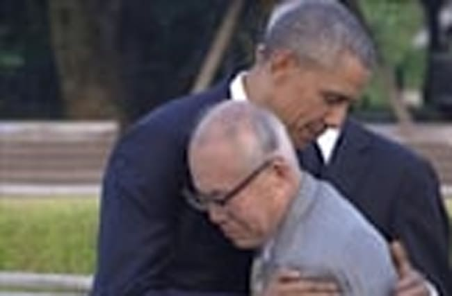 Obama makes historic visit to Hiroshima