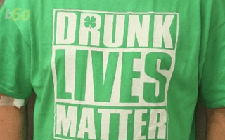 'Drunk lives matter' drink-driver pulled over by police