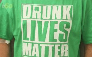 'Drunk lives matter' drink-driver pulled over by police