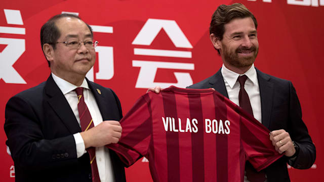 Shanghai SIPG announces Villa-Boas as new manager
