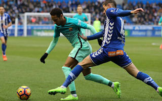 Alaves 0 Barcelona 6: Vidal suffers horror injury as MSN strike in Copa del Rey final rehearsal