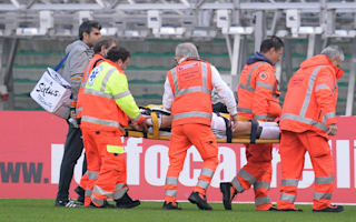 Juventus confirm Barzagli shoulder injury