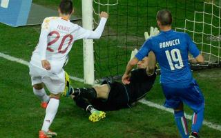 Italy 1 Spain 1: Aduriz poaches equaliser on international return