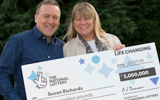 Carer's £3m lottery win after buying a scratch card on a whim