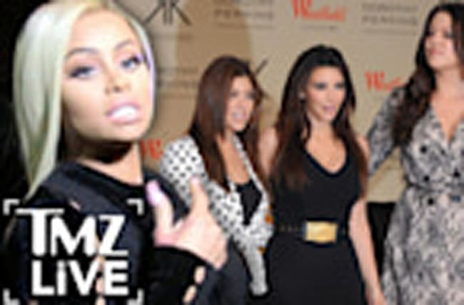 BLAC CHYNA At War with THE KARDASHIANS (TMZ Live)