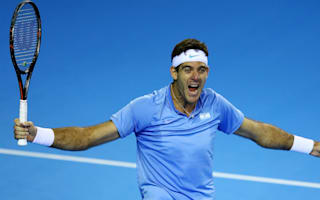 Del Potro beats Murray to put Argentina in command, France level with Croatia