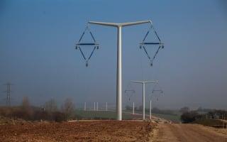 New T- pylon designed to make the English countryside prettier