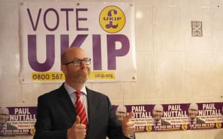 Ukip's Paul Nuttall stands by aide who re-tweeted racially-charged slogan