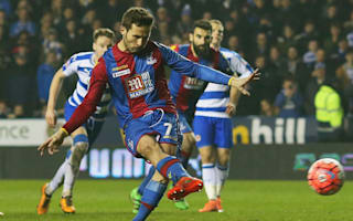 Reading 0 Crystal Palace 2: Pardew's men leave it late