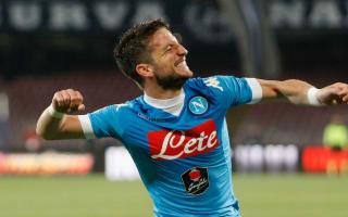 Napoli 6 Bologna 0: Mertens hat-trick keeps Scudetto hopes alive