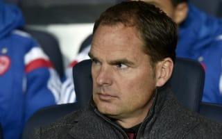 De Boer reveals first Inter contact came after Tottenham thrashing