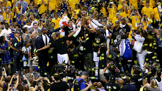 Warriors beat Cavaliers to win title