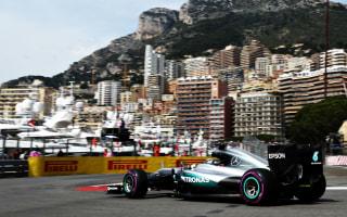 Hamilton fastest in eventful first Monaco practice
