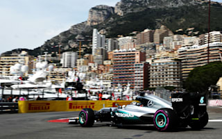 Hamilton fastest in eventful first Monaco practice