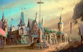 Brand new princess village to open in Disneyland in 2013