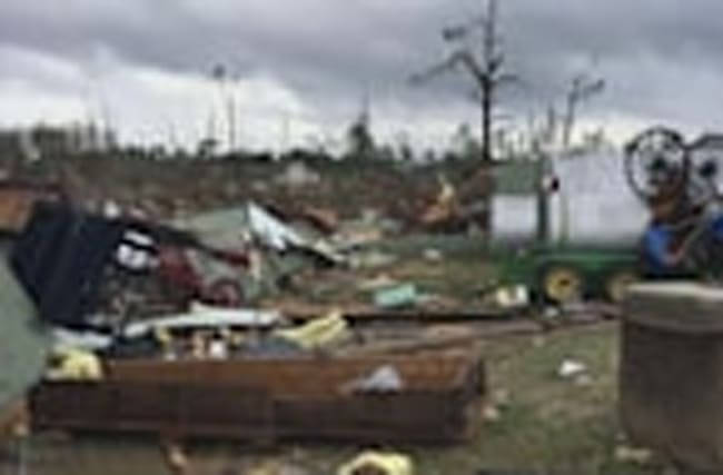 Tornadoes sweep south eastern America killing 18