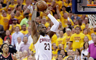 Cavs one win away from NBA Finals after routing Raptors