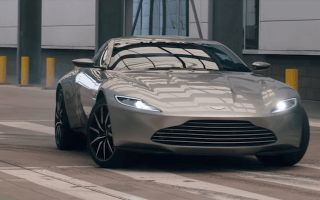 Aston Martin shows off £65m worth of cars at new St Athan plant