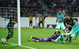 Borussia Monchengladbach 1 Barcelona 2: Pique grabs the winner