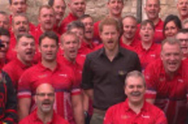 Prince Harry unveils UK squad for Invictus Games