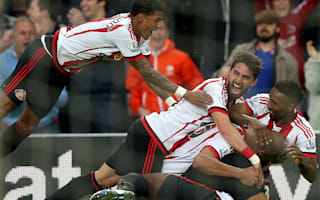 Sunderland 3 Everton 0: Van Aanholt and Kone secure Premier League safety