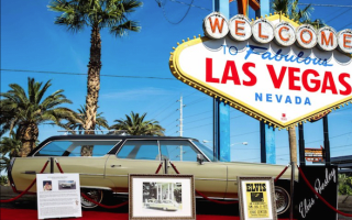 Rock 'n' Roll! Elvis Presley's 1972 Cadillac hits the market