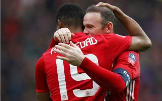 Rashford backs Man Utd team-mate Rooney for England return