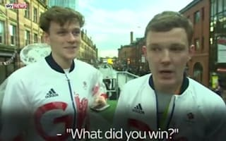 Imposters blag their way on to Team GB Olympic parade with tracksuits and medals