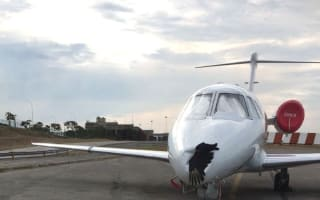 Pilot lands plane with bird carcass in nose cone in Venezuela