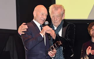 Sir Patrick Stewart named a 'Legend' by old friend Sir Ian McKellen at Empire Awards