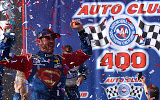Johnson claims victory at Auto Club 400