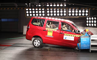 New Chevrolet returns zero-star crash test score