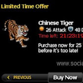 Get Your Mafia Wars Chinese Tiger!