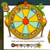 Island Paradise Tiki Wheel rewards players for return visits