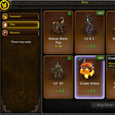 World of Warcraft Gets In-Game Store