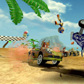 Go behind the scenes with Vector Unit on Beach Buggy Racing!